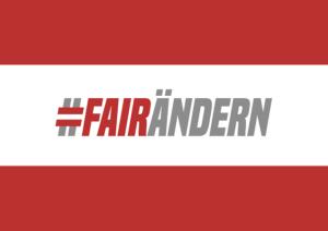 #fairändern!