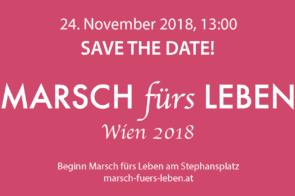 Marsch fürs Leben – Gehen auch Sie mit!